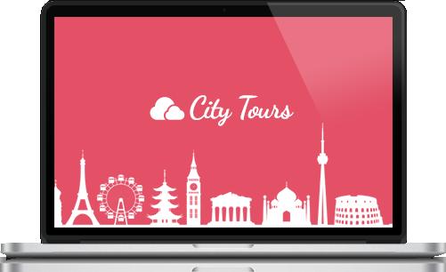 city tours laptop